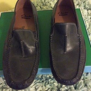 Clarks blue leather size 9 1/2